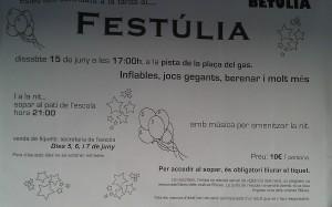 Cartell Festúlia 2013